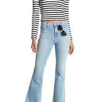 J Brand Womens 802t178 Demi Bootcut Jeans Beachline Blue 25w Photo
