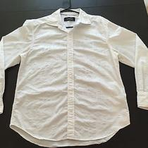 J. Campbell Men's White Dress Shirt Photo