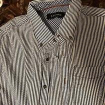 J. Campbell Xl Blue Stripped Shirt Mint Condition Photo