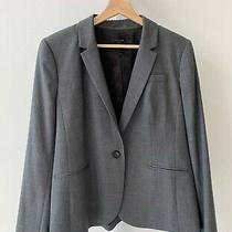J.crew 1035 Campbell Blazer Super 120 Wool One Button Suit Jacket Career Gray 16 Photo