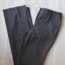 J Crew 148 Campbell Trousers Super 120s Wool 0 Black Pants C9175 Photo