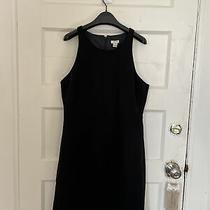 J Crew Black Dress Size 10 Photo