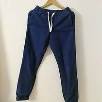 J.crew Blue Denim Stadium Pants - Size Xs Photo