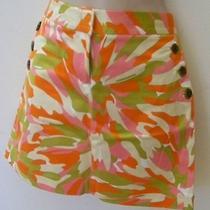 J.crew Bright Fun Color Skirt sz.2 Photo