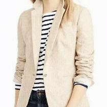 J.crew Campbell Blazer in Linen Size 2 Photo