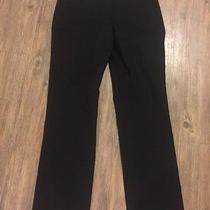 J Crew Campbell Trouser Pant Capris in Bi-Stretch Wool Black Sz 4 Tall Photo