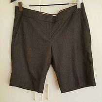 J.crew Charcoal Wool City Fit Shorts 10 Photo