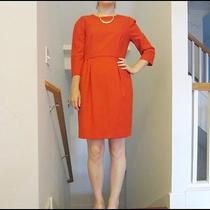J.crew Classic Red Dress Size 6  Photo