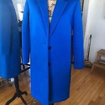 J Crew Collection Cobalt Blue Coat Size 0 Photo
