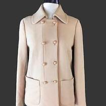 J Crew Double Cloth Camino Coat Sz 4 Blush Pink Wool Jacket Lined Photo