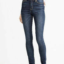 J. Crew Factory Classic Blue Wash High Rise Skinny Jeans Size 00 New With Tags Photo