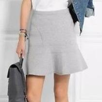 J Crew Flared Surf Skirt Heather Jersey S  89.50 Sexy Perfect Fluted Photo