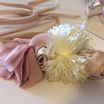 J.crew Flower Sash Belt New Color Blush Photo