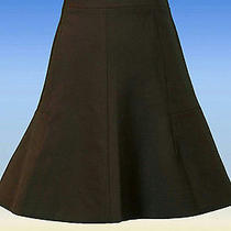 J Crew Fluted Skirt in Double Crepe Size 2 Style 03394 98 New Photo