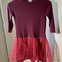 J Crew Girls Wine Cotton Dress Tutu S 10 Photo