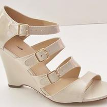 J Crew Gwendolyn Wedges 8 Heather Stone Photo