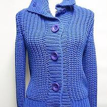 J.crew Handknit Cable Sweater Size Xs Photo
