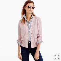 J Crew Harlow Cardigan Sweater Xxs in Blush Nwt Photo