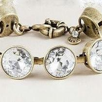 J. Crew  Luxury Crystal Brulee Bracelet  61782 Photo