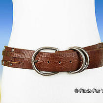 J Crew Madewell Stirrup Belt Sz Medium Style  26913 52 English Saddle  New Photo