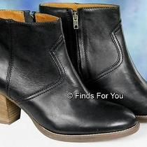J Crew Madewell  Winston Boot Size 11 Style 17340 208 New Black Photo