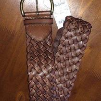 J Crew Madewell Woven Leather Belt - Nwt - Xs/s Photo