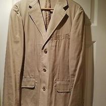 J.crew Men Beige Blazer Sz 38 R.  Photo