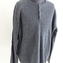 J.crew Men's Crew Neck Pull Over Sweater 100% Lambs Wool Gray Size 2xl Photo
