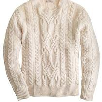 J.crew Men's Wallace & Barnes Shetland Wool Fisherman Sweater Photo