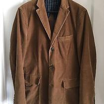 J.crew Mens Brown Corduroy Jacket Sportcoat 3 Button Cuffs Size M Photo