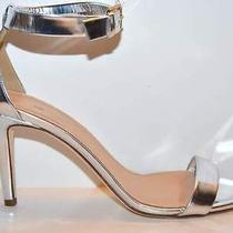 J.crew Metallic High-Heel Sandals Metallic Silver 8 198 Photo