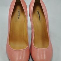 J Crew Mona Leather Pumps Heels 9.5 Pink Blush 218 New Sold Out Photo