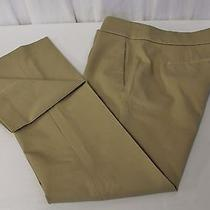 J Crew New Campbell Capri Pant in Bi-Stretch Cotton Pale Umber Size 0 Nwt C3658 Photo