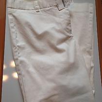 J Crew Off-White Size 12 Pants Photo