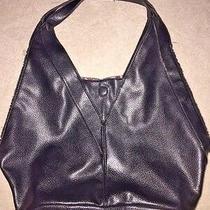 J Crew Peyton Snake Skin Pattern Shopper Black Hobo Handbag Purse Photo