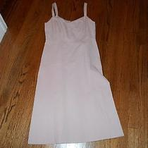 J.crew Strappy Sleeveless Sundress Sun Dress Summer Blush Size Small Photo