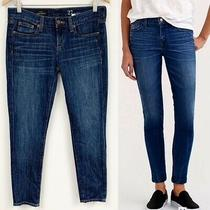 J. Crew Toothpick Blue Denim Jeans Sz 27 Photo