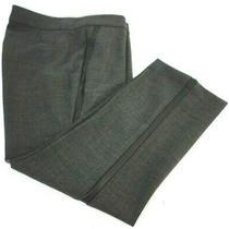J.crew Women Dress Pants Size 6 Campbell Gray Wool Viscose Polyester Elastane Photo