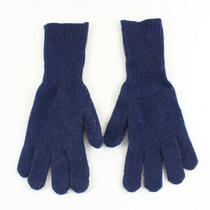 J. Crew Women's Navy Blue Knit Gloves Photo