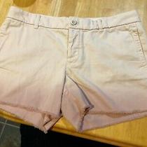 J.crew Womens Sz 10 Ombre Broken in Boyfriend Shorts 4 Inseam Pink Blush  Euc Photo