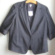J.jill the Boyfriend  Jacket  3x   Nwt  129  Sale   Charcoal Heather Photo