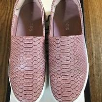 J/slides Nyc Ariana Womens Blush Embossed Lux Slip on Sneaker Shoes Size 6 Photo