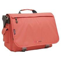 J World Thomas Laptop Messenger Bag- Blush Photo
