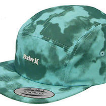 J760 - Hurley Solar Tonal Hat / Cap  Nwt Adult One Size Strapback Turq - 19797 Photo