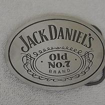 Jack Daniel's Old No. 7 Whiskey Great American Products Vintage Belt Buckle 6500 Photo