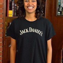 Jack Daniels Whisky Backstage Since 1866 Staff Concert Tour Black T-Shirt Large Photo