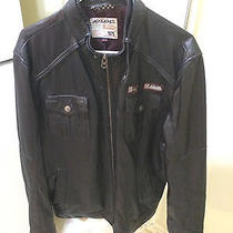 Jack & Jones Lamb Leather Jacket  Photo
