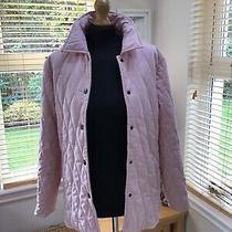 Jack Murphy Blush Pink Quilted Jacket Size 12. Photo