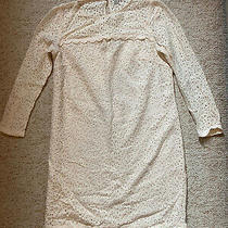 Jack Wills Blush Cream Lace Dress - Size 8 Photo