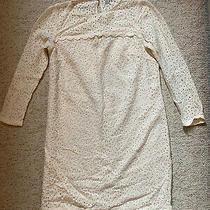 Jack Wills Blush Cream Lace Dress - Size 8 Photo
